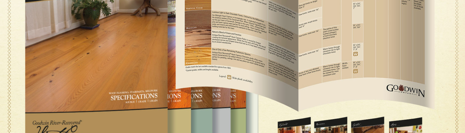 architects specifications brochure