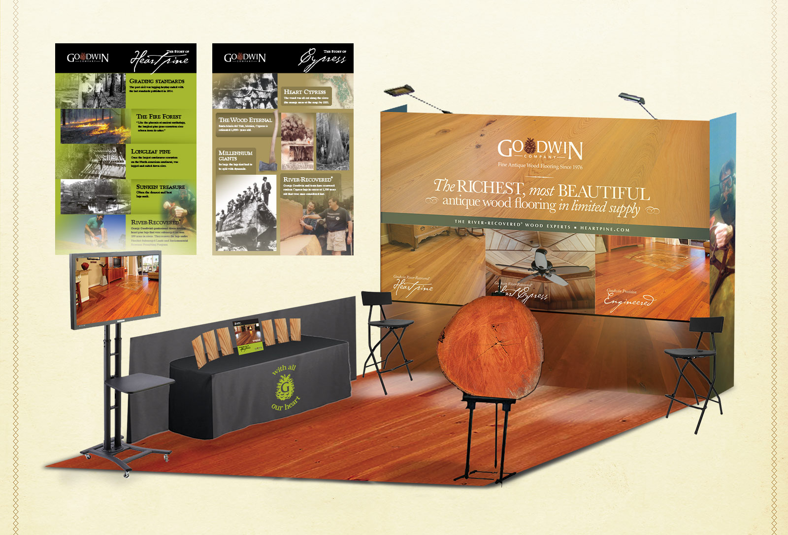 Tradeshow design for architects
